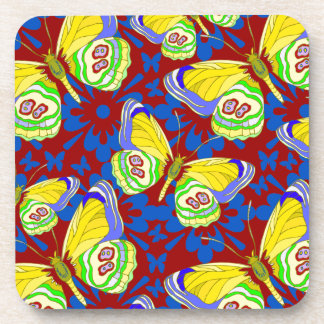 Butterfly  Art  Design Coasters