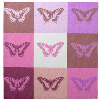 Butterfly art graphic design cloth napkin