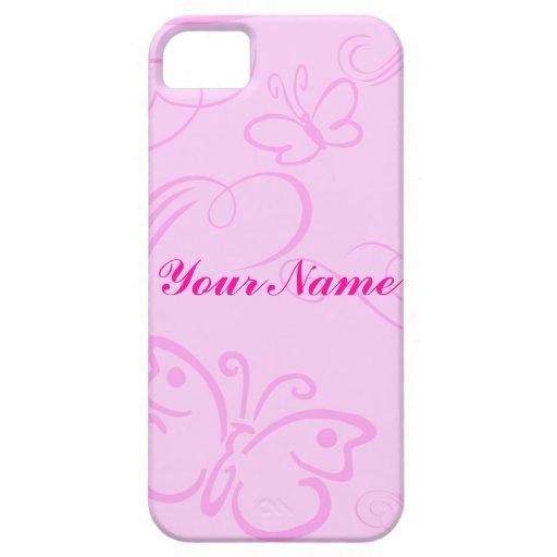 Butterfly Art iPhone 5 Case