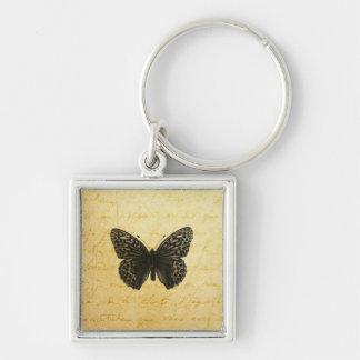 Butterfly Art Keychain