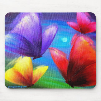 Butterfly Art Painting - Multi Mouse Mat