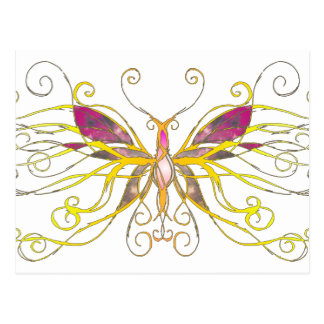 Butterfly Art Post Cards
