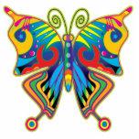 "BUTTERFLY ART STATUETTE<br><div class=""desc"">A beautiful Photo Sculpture with colorful Butterfly art !</div>"