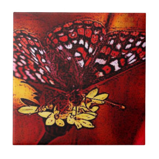 Butterfly Art Tile