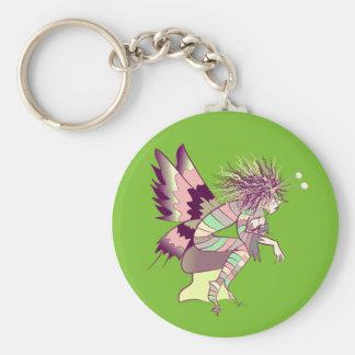 Butterfly Artistic Fantasy Fairy Unique Elf Cute Keychain