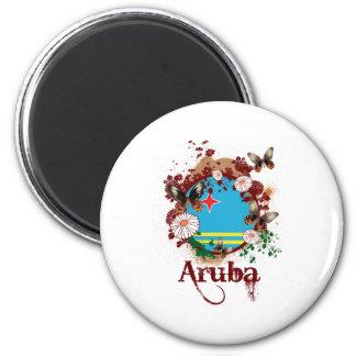 Butterfly Aruba Magnet