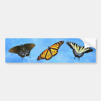 Butterfly Assortment Bumper Sticker