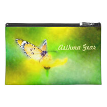 Butterfly Asthma Emergency Kit Travel Accessory Bag