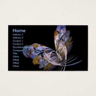 Butterfly at night Business Card