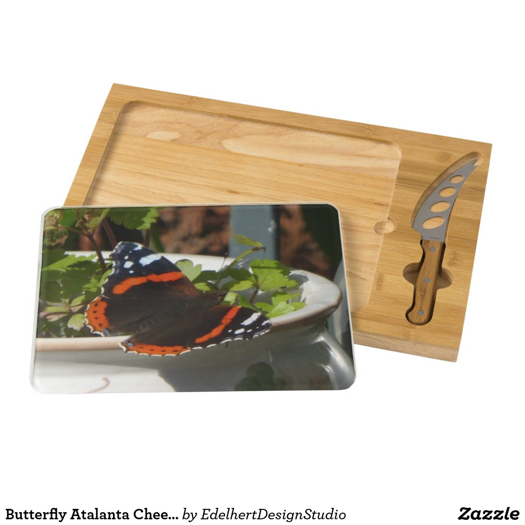 Butterfly Atalanta Cheese Board