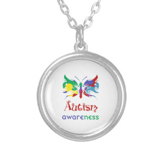 Butterfly Autism Awareness Custom Necklace
