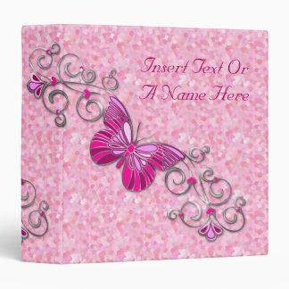 Butterfly Avery Binder