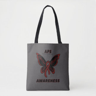 Butterfly/Awareness...APS Tote Bag