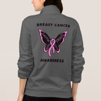 Butterfly/Awareness...Breast Cancer Jacket