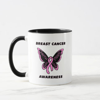 Butterfly/Awareness...Breast Cancer Mug