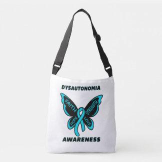 Butterfly/Awareness...Dysautonomia Crossbody Bag