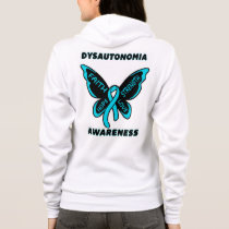 Butterfly/Awareness...Dysautonomia Hoodie
