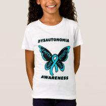 Butterfly/Awareness...Dysautonomia T-Shirt