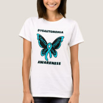 Butterfly/Awareness...Dysautonomia T-Shirt