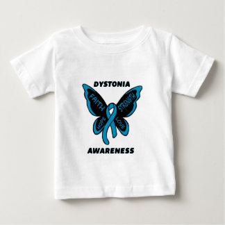 Butterfly/Awareness...Dystonia Baby T-Shirt