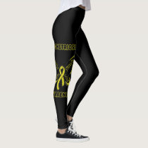 Butterfly/Awareness...Endometriosis Leggings