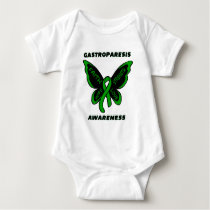 Butterfly/Awareness...Gastroparesis Baby Bodysuit
