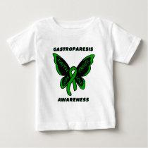Butterfly/Awareness...Gastroparesis Baby T-Shirt