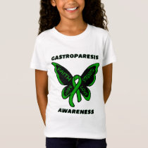 Butterfly/Awareness...Gastroparesis T-Shirt