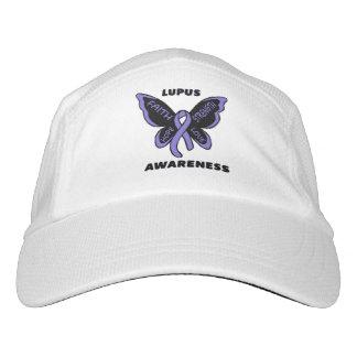 Butterfly/Awareness...Lupus Headsweats Hat
