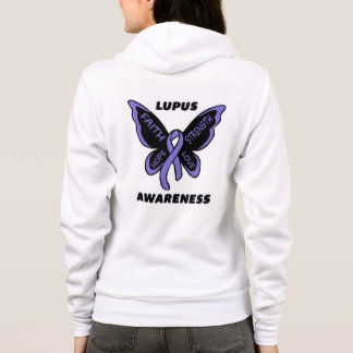 Butterfly/Awareness...Lupus Hoodie