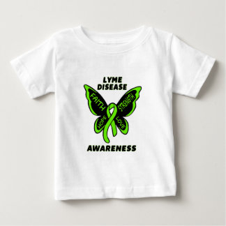 Butterfly/Awareness...Lyme Disease T-shirt