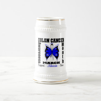 Butterfly Awareness Month Colon Cancer Coffee Mug