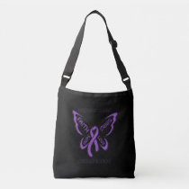 Butterfly/Awareness...Sarcoidosis Crossbody Bag