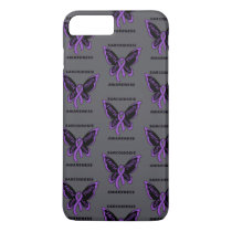 Butterfly/Awareness...Sarcoidosis iPhone 8 Plus/7 Plus Case