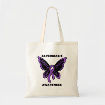Butterfly/Awareness...Sarcoidosis Tote Bag