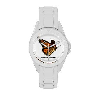 Butterfly Awareness Symbol Wrist Watches