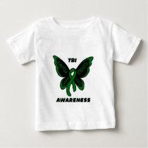 Butterfly/Awareness...TBI Baby T-Shirt