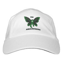 Butterfly/Awareness...TBI Hat