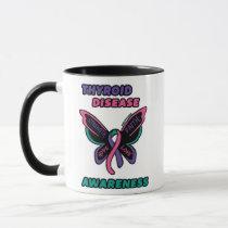 Butterfly/Awareness...Thyroid Disease Mug