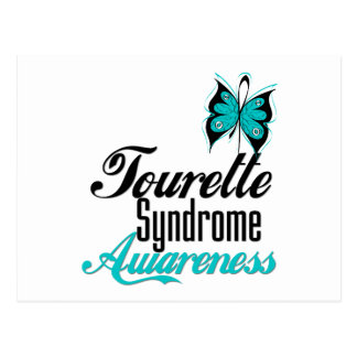 Butterfly Awareness Tourette Syndrome Post Cards