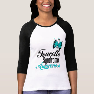 Butterfly Awareness Tourette Syndrome Tee Shirts