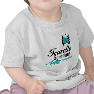 Butterfly Awareness Tourette Syndrome Tshirt
