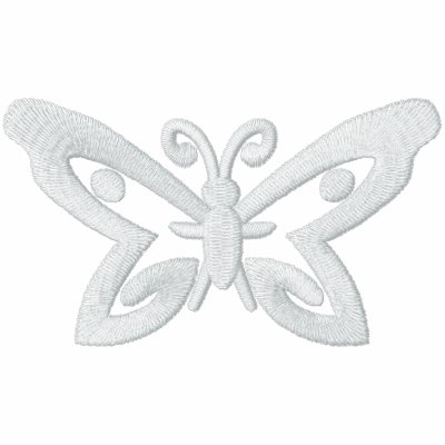 Butterfly Baby Embroidered Shirt