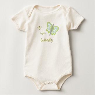 Butterfly Baby-organic Baby Bodysuit