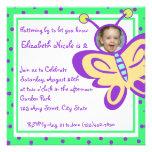 Butterfly Baby/ Photo Custom Invites