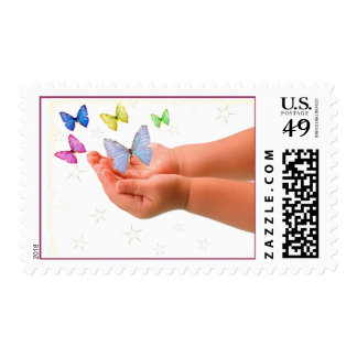 Butterfly Baby Postage