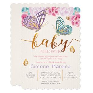 Monarch Butterflies Invitations Announcements Zazzle