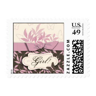Butterfly Baby Stamp B