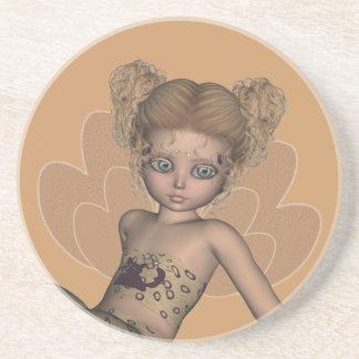 Butterfly Baby Strangeling Fairy Coaster