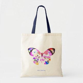 Butterfly bag - Einkaufstasche Bolsa Tela Barata